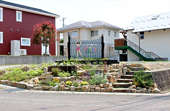 バレエ&ダンススタジオPasso(パッソ)のスタジオ隣りにある無料専用駐車場です。
